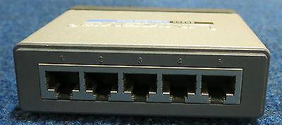 CISCO LINKSYS SD205 External 5-Port 10/100Mbps Wired Fast Ethernet Switch
